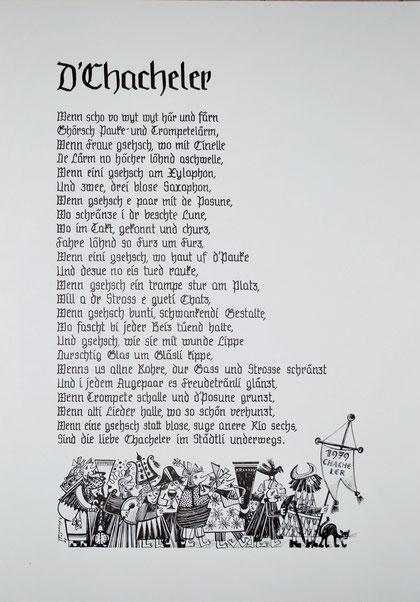 1979 Text: Thuri Jacot, Bild: Seppi Kreienbühl