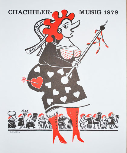 1978 Druck von Seppi Kreienbühl
