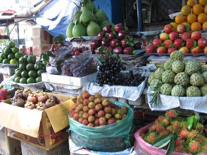 Trái cây chợ Sài Gòn