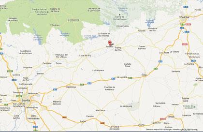 Localización de Peñaflor