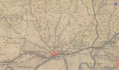 Peñaflor a principios del siglo XIX