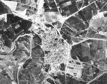 Peñaflor. Vuelo ameriacano 1956-1957