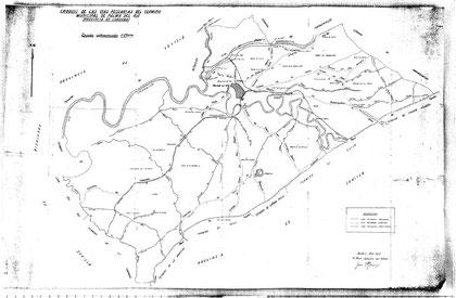 Peñaflor, vías pecuarias 1953