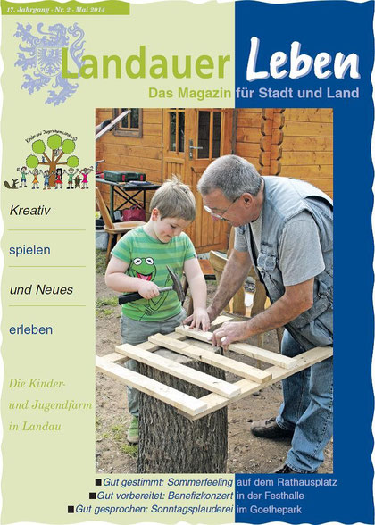 """Landauer Leben"", Ausgabe Mai 2014, Titelbild"