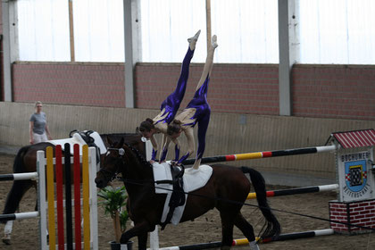 Pisi mit Neele, Kreismeisterschaft Juli 2011