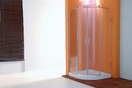 Mampara de ducha semicircular Onassis-S