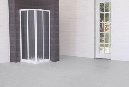 Mampara angular de ducha modelo Karla