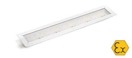 EX Leuchte Amyra für Lackieranlagen