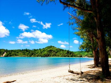 セブ島留学。レッスン後は海辺のブランコに座って、リラックスしよう♡(写真はイメージです)