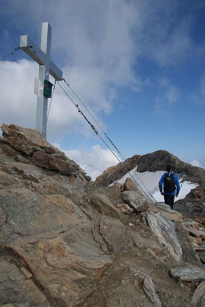 Auf der Baumbachspitze (14.8.2012)
