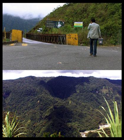 """""""Humboldt_2.0 - Vistas de Coordilleras y Monumentos de los Pueblos Indígenas de la América"""" still de video, 2012."""