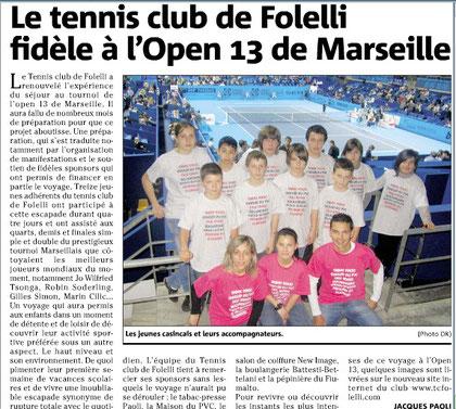 Open 13 2011