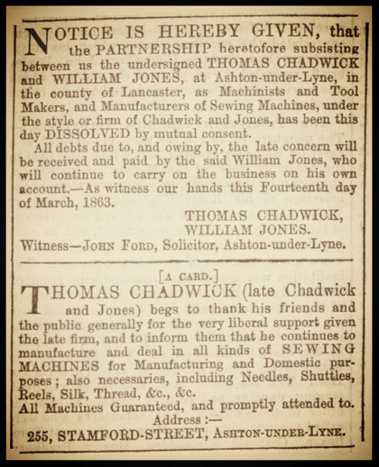 The Ashton Weekly Reporter - Saturday 21  March 1863