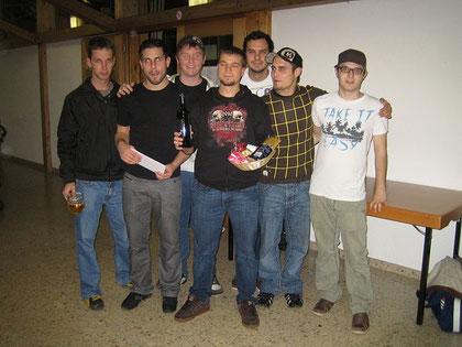 Siegerteam der Sportfreunde