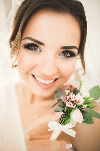 Braut-Make-up Beauty-Service für Ihre Hochzeit