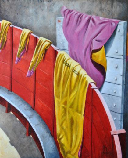 peinture-art--corrida-tauromachie-arenes-nimes