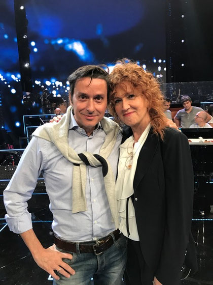 Fabrizio Riceputi e Fiorella Mannoia