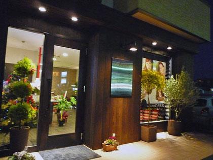 建築 施工例 岡山市の美容院 店舗デザイン、内装