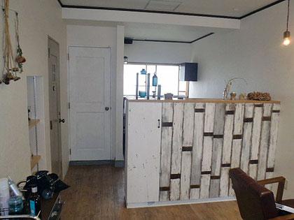 建築 施工例 高知県高知市の美容室 店舗デザイン、内装