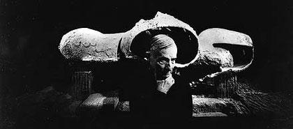 Frederick Kiesler, Foto: Hans Namuth