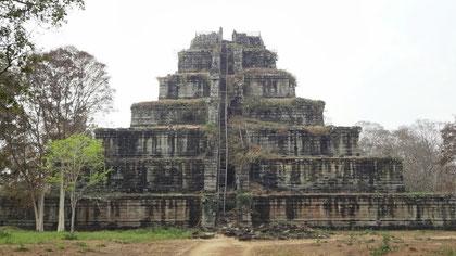 コーケー遺跡群 ピラミッド式寺院プラサットトム