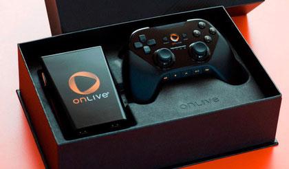 Der Streaming-Service 'OnLive' verspricht gegen eine moderate Abo-Gebühr Zugang zu den neuesten Spielen. Die werden entweder im Computer-Browser oder mit der abgebildeten Box am TV gespielt.
