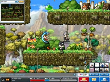 """Unglaublich, aber wahr: Das Jump'n'Run-MMORPG """"Maple Story"""" ist das erfolgreichste Spiel des südkoreanischen Publishing-Giganten Nexon und hat u.a. dafür gesorgt, dass das Unternehmen größer wurde als EA."""