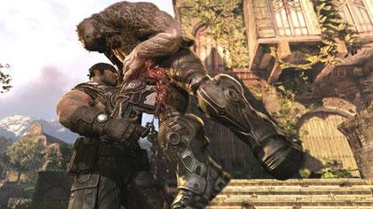 """Erschien zur Überraschung aller doch noch in Deutschland: Das dritte """"Gears of War 3""""."""