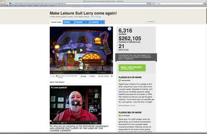 """Beliebter Adventure-Opi: """"Leisure Suit Larry""""-Macher Al Lowe wünschte sich 500.000 Dollar für ein Remake seines Klassikers."""