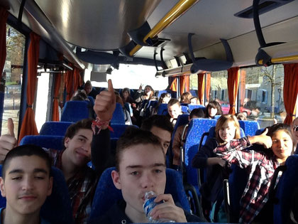 ... and in the bus :-)
