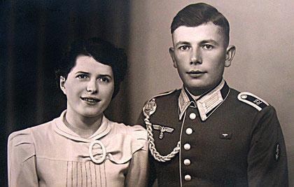 Das Hochzeitsfoto von 1939