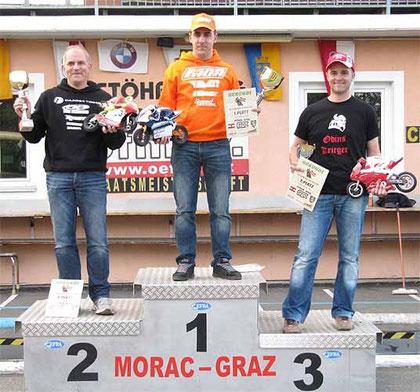 1.LOPEZ Mario ES, 2.FEILNER Thomas  DE, 3.NEUMEISTER Gottfried AT MORAC-Graz