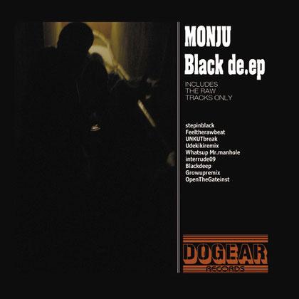 MONJU - Black de.ep LP