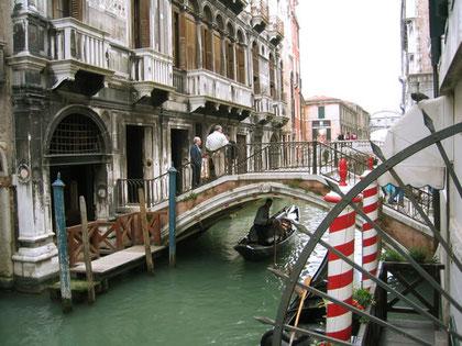 イタリアでの滞在地「ヴェネツィア」