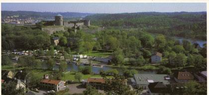 Postkarte, Festung Bohus