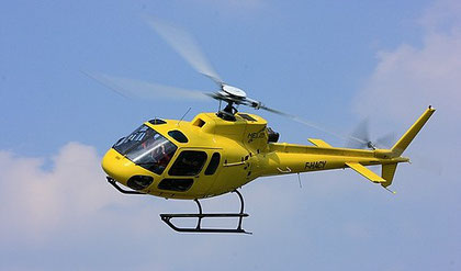 Rundflüge mit dem Hubschrauber in Spa