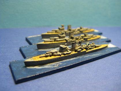 HMS Exeter - HMS Achilles - HMS Ajax