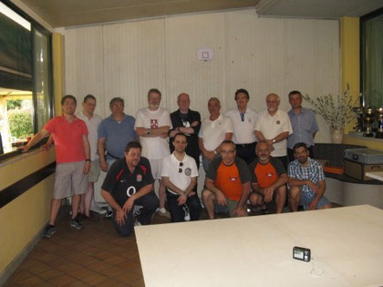 I 14 partecipanti al torneo.