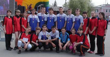 команда легкоатлетов