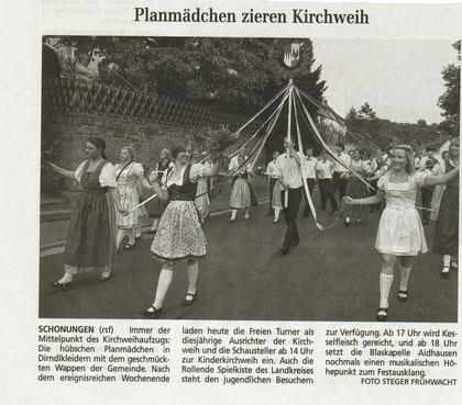 Auszug aus dem Schweinfurter Tagblatt