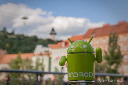 Der kleine Android in der Großen Stadt...