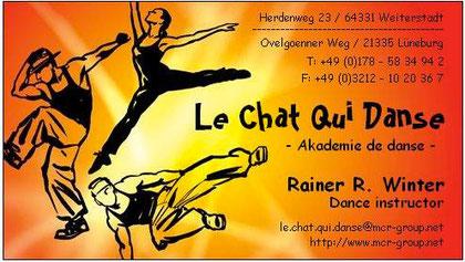 Le Chat Qui Danse - Akademie de danse