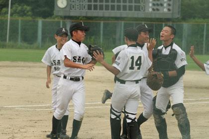 全員野球!