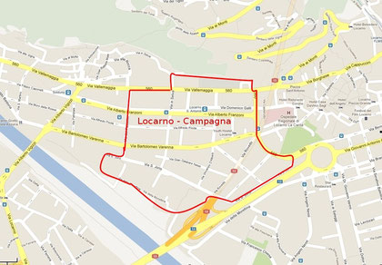Limiti del quartiere Locarno-Campagna