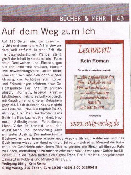 Kulturinfo, August 2011, Ausgabe Koblenz