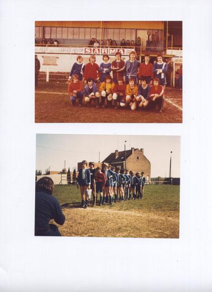 SGS C-Jugend in Belgien 1975