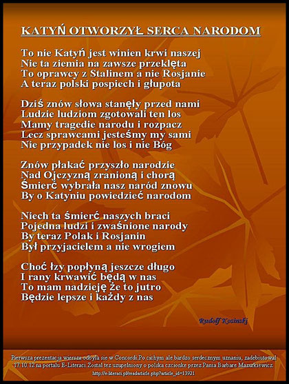 Moje Wiersze Ruditv