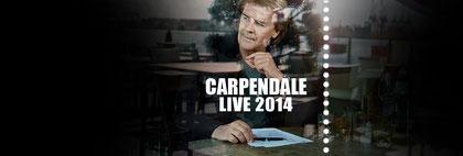 persönliche Tourbetreuung 2014 für Howard Carpendale