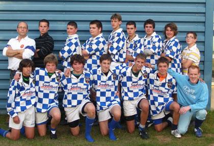 Les cadets 2009-2010
