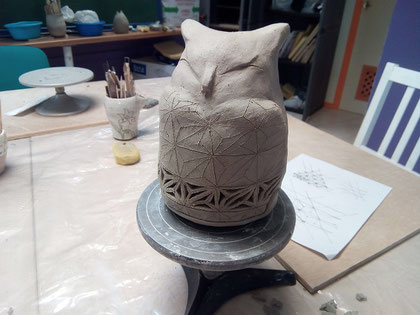 Clase de ceramica Mari Orikasa Benalmadena